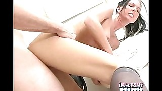 brunette classroom big-cock hardcore innocent small-tits little monster ride