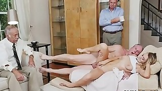 blonde blowjob cumshot facials handjob hardcore innocent natural old-and-young