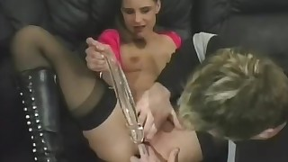 amateur ass blowjob boobs brunette hardcore nylon orgasm really